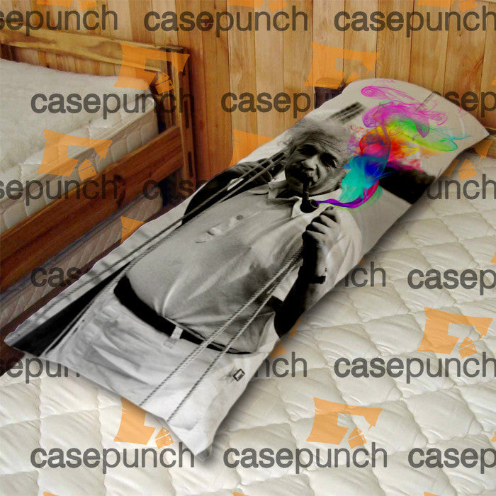 An2-albert Einstein Smoking Universe Cosmos Body Pillow Case