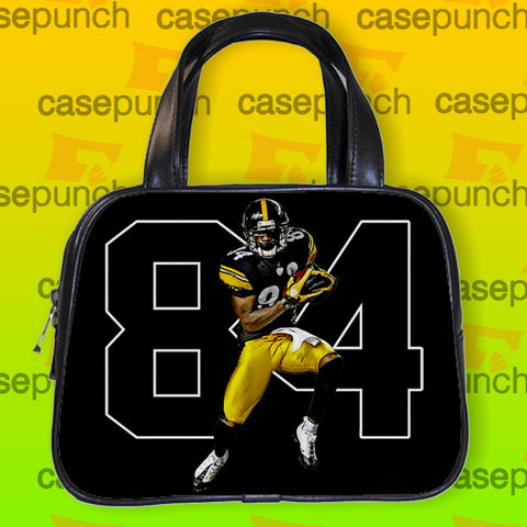 An1-antonio Brown 84 Pittsburgh Steelers Handbag Purse Woman Bag Classic