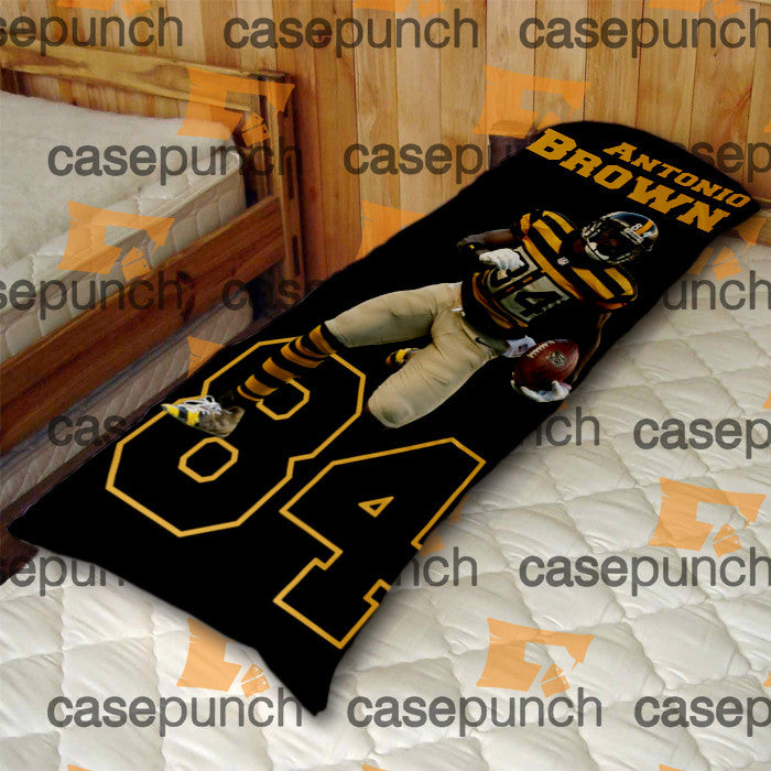 An2-antonio Brown 84 Pittsburgh Steelers Body Pillow Case
