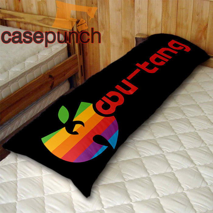 An1-apple Style Wu Tang Logo Body Pillow Case