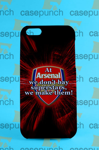 Mz1-arsenal Motto Football Emirates For Iphone 6 6 Plus 5 5s Galaxy S5 S5 Mini S4 & Other Smartphone Hard Back Case Cover