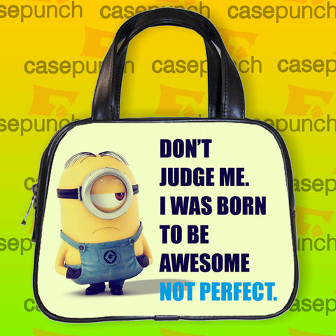 An1-awesome Perfect Minion Despicable Me Handbag Purse Woman Bag Classic