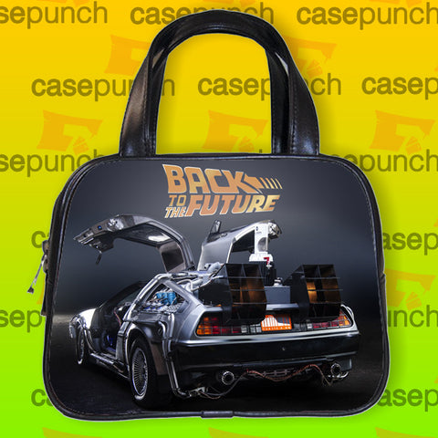 An1-back To The Future Fast Car Handbag Purse Woman Bag Classic