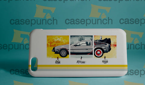 Mz1-back To The Future Fast Car For Iphone 6 6 Plus 5 5s Galaxy S5 S5 Mini S4 & Other Smartphone Hard Back Case Cover