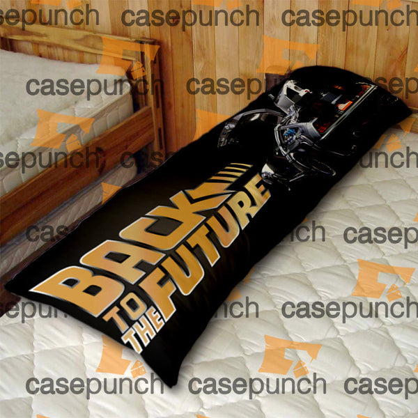 An1-back To The Future Fast Car Body Pillow Case