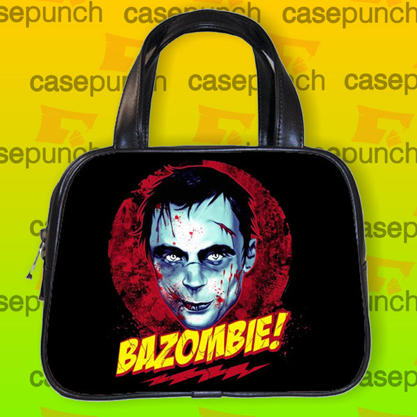 An1-bazombie-bazinga Zombie Horror Handbag Purse Woman Bag Classic