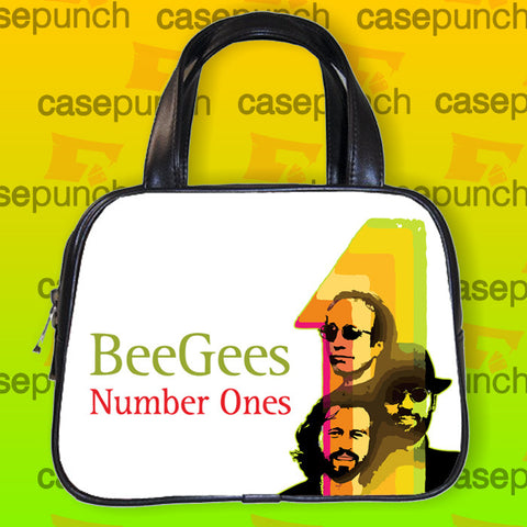 An1-bee Gees Rock Logo Handbag Purse Woman Bag Classic