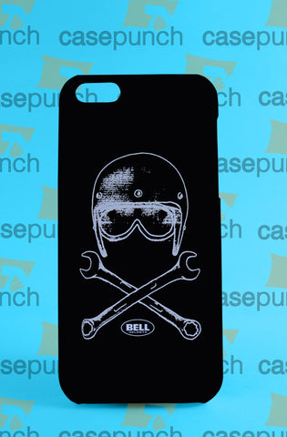Mz1-bell Helmets  Bell & Wrenches For Iphone 6 6 Plus 5 5s Galaxy S5 S5 Mini S4 & Other Smartphone Hard Back Case Cover