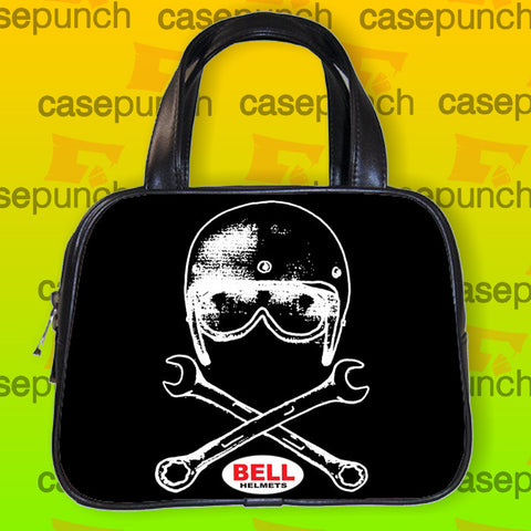 An1-bell Helmets  Bell & Wrenches Handbag Purse Woman Bag Classic