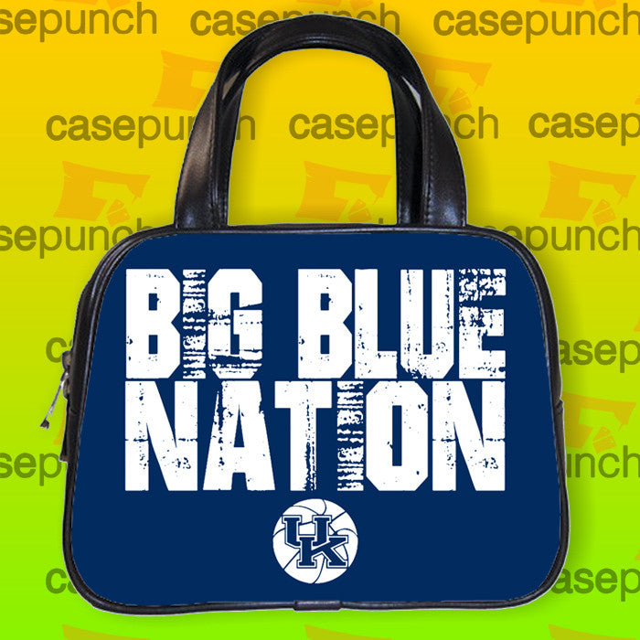 An1-big Blue Nation Kentucky Wildcats Handbag Purse Woman Bag Classic