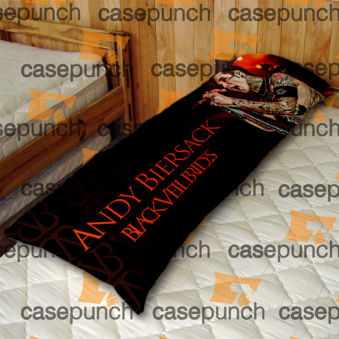 An2-black Veil Brides Andy Rock N Roll Body Pillow Case