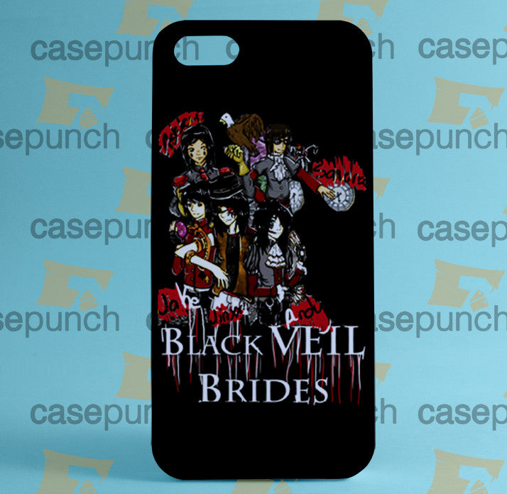 purchase cheap 3e0e3 665c5 Mz4-black Veil Brides Andy Rock N Roll For Iphone 6 6 Plus 5 5s Galaxy S5  S5 Mini S4 & Other Smartphone Hard Back Case Cover