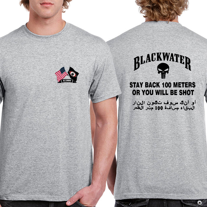 Blackwater Punisher Security Team Logo T-shirt (longsleeve Crop Top Tank Top & Hoodie Available)