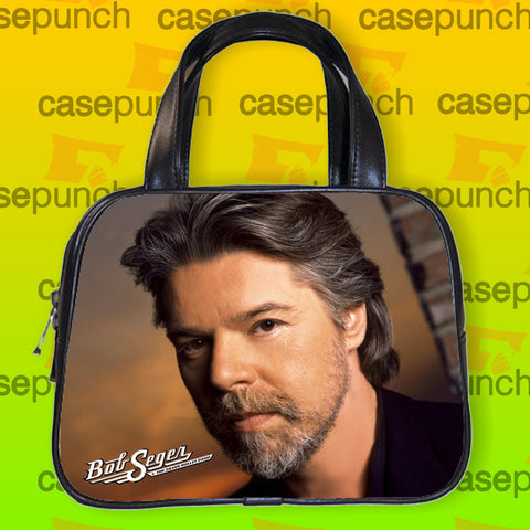 An1-bob Seger And The Silver Bullet Band Handbag Purse Woman Bag Classic
