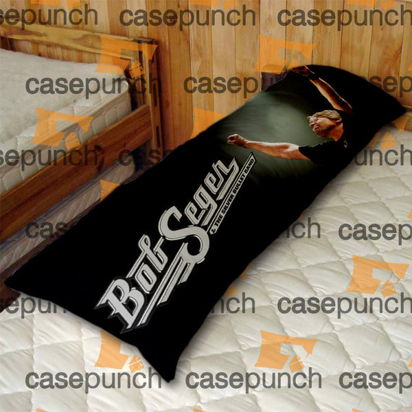 An1-bob Seger And The Silver Bullet Band Body Pillow Case
