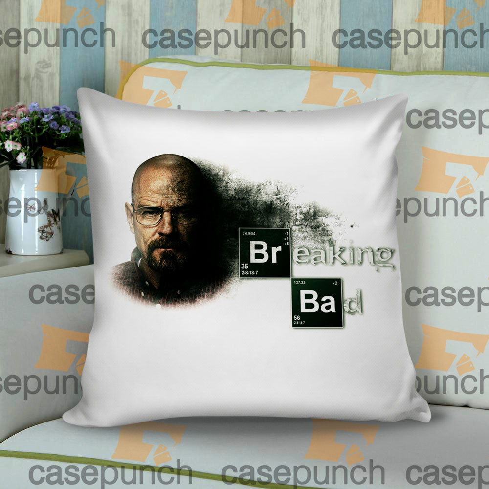 Sr1-breaking Bad Elements Show Logo Cushion Pillow Case