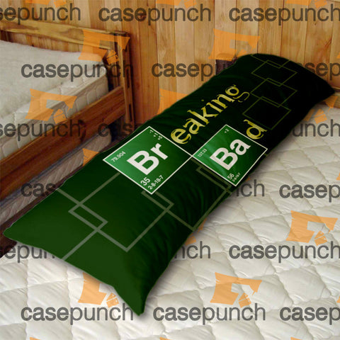 An1-breaking Bad Elements Show Logo Body Pillow Case