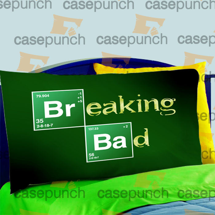Mz1-breaking Bad Elements Show Logo Pillow Case For Bed Bedding