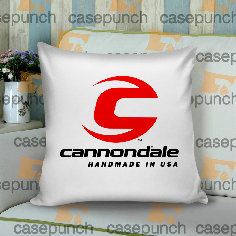 Sr1-cannondale Bicycle Logo Cushion Pillow Case