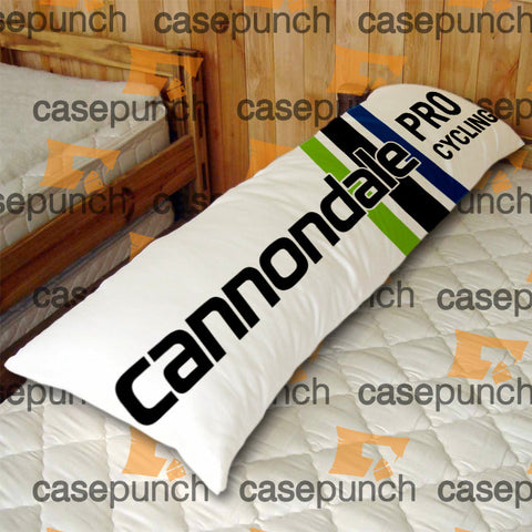 An1-cannondale Bicycle Logo Body Pillow Case