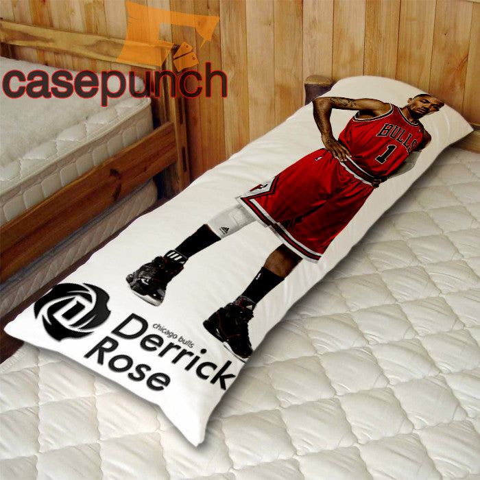 An1-chicago Bulls Derrick Rose Body Pillow Case