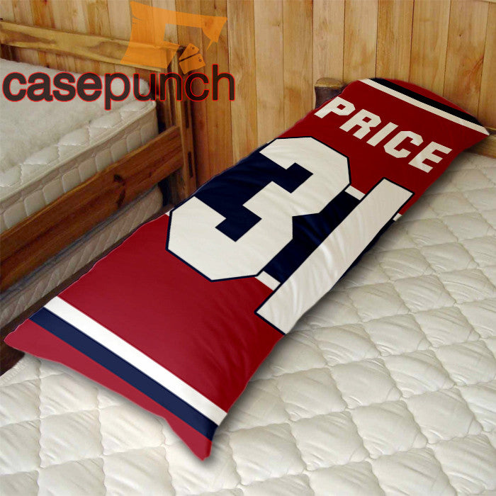 An1-carey Price Price Right Montreal Canadiens Body Pillow Case