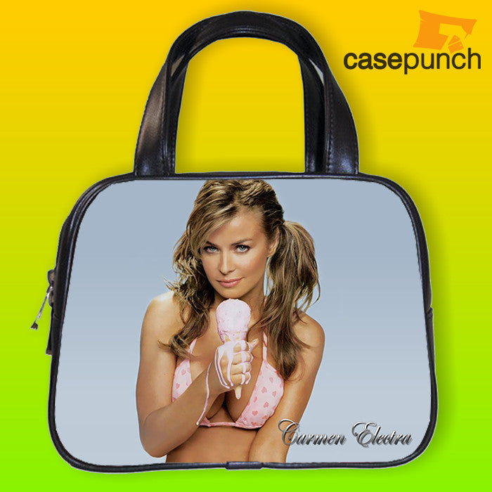 An1-carmen Electra Ice Cream Melt Sexy Handbag Purse Woman Bag Classic