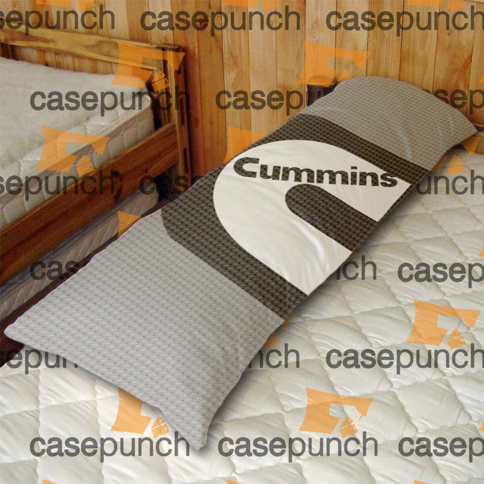 An1-cummins Dodge Truck Logo Body Pillow Case