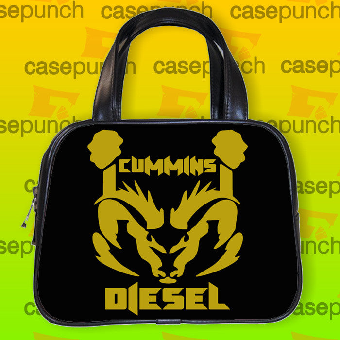 An8-cummins Dodge Truck Logo Handbag Purse Woman Bag Classic