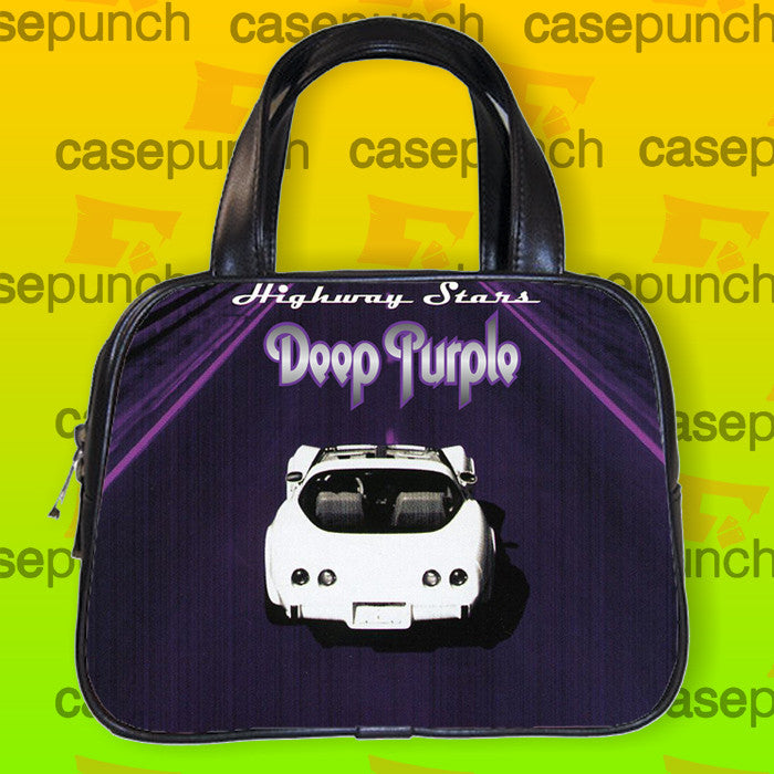 An1-deep Purple Rock N Roll Handbag Purse Woman Bag Classic