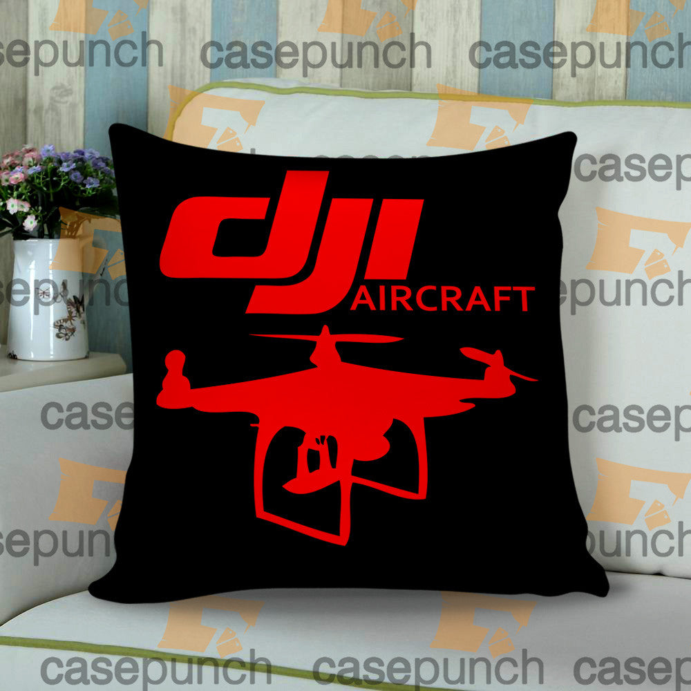 Sr1-dji Phantom Aircraft Cushion Pillow Case