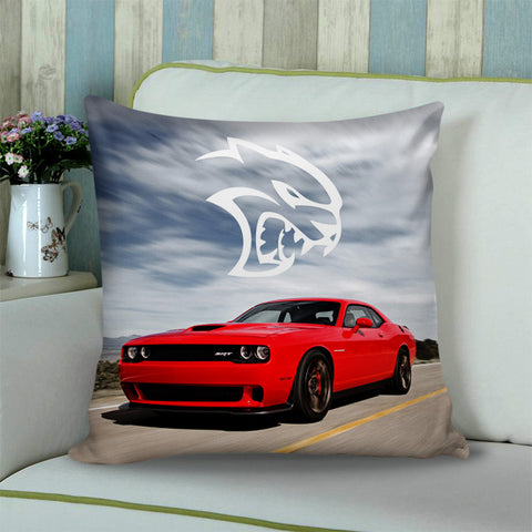 DODGE HELLCAT CHARGER logo Cushion Pillow Case