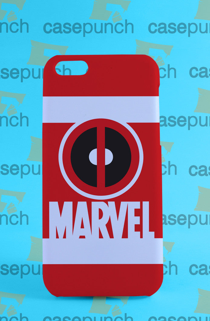 Mz4-deadpool Symbol Marvel For Iphone 6 6 Plus 5 5s Galaxy S5 S5 Mini S4 & Other Smartphone Hard Back Case Cover