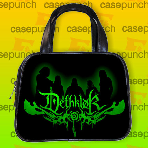 An1-dethklok Metal Band Logo Handbag Purse Woman Bag Classic