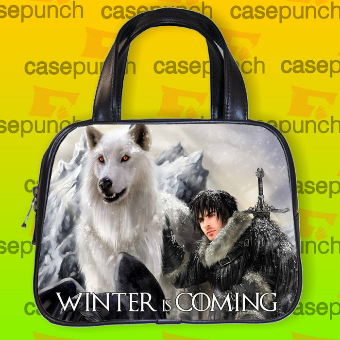 An1-direwolf Game Of Thrones Handbag Purse Woman Bag Classic