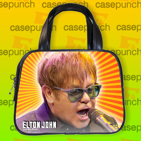 An1-elton John & His Band 2015 Tour Handbag Purse Woman Bag Classic