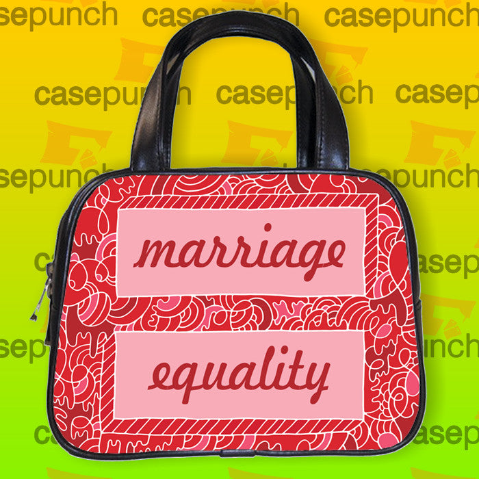 An1-equality Equal Gay Lesbian Marriage Handbag Purse Woman Bag Classic