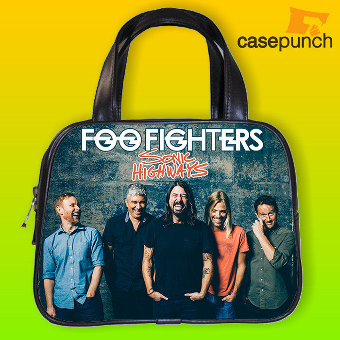 An1-foo Fighters 2015 World Tour Handbag Purse Woman Bag Classic