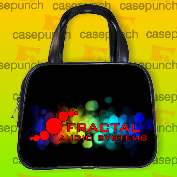 An1-fractal Audio Systems Logo Handbag Purse Woman Bag Classic