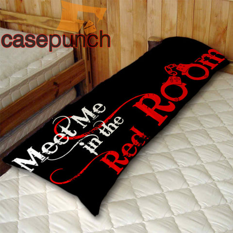 An1-fifty Shades Of Grey Meet Me In The Red Room Body Pillow Case