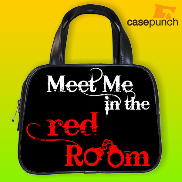 An1-fifty Shades Of Grey Meet Me In The Red Room Handbag Purse Woman Bag Classic