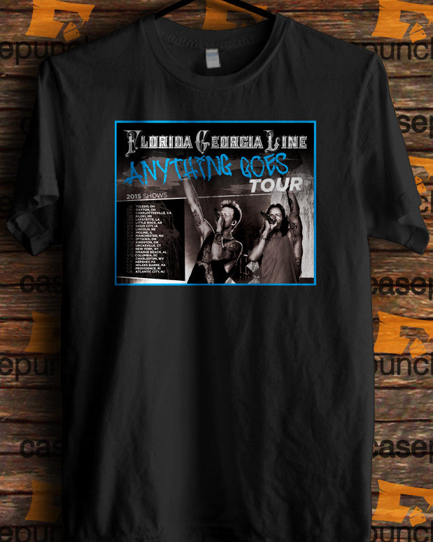 Sr2-florida Georgia Line Anything Goes Tour 2015 (longsleeve Crop Top Tank Top & Hoodie Available)