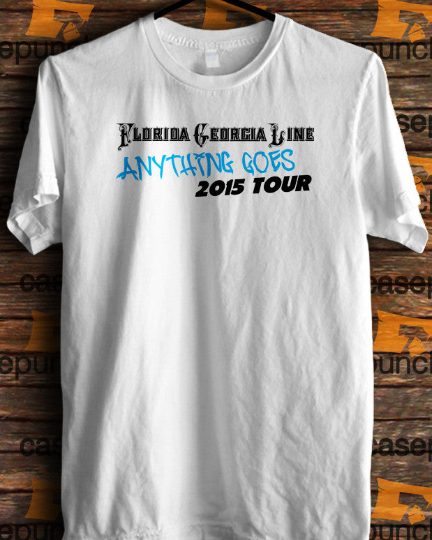 Sr6-florida Georgia Line Anything Goes Tour 2015 (longsleeve Crop Top Tank Top & Hoodie Available)