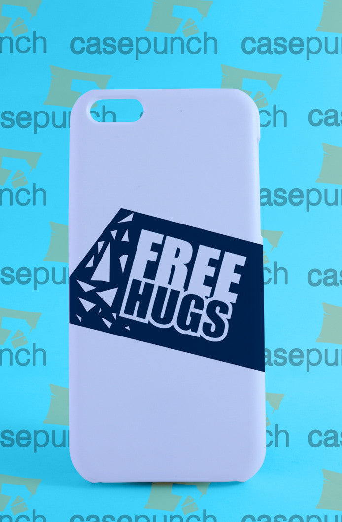 Mz1-funny Free Hugs Graphic For Iphone 6 6 Plus 5 5s Galaxy S6 S5 S5 Mini S4 & Other Smartphone Hard Back Case Cover