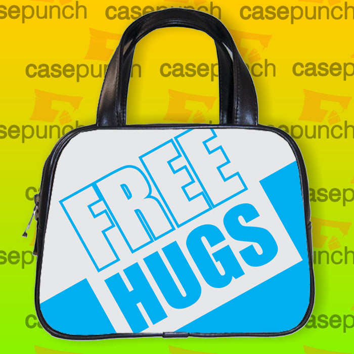 An5-funny Free Hugs Graphic Handbag Purse Woman Bag Classic