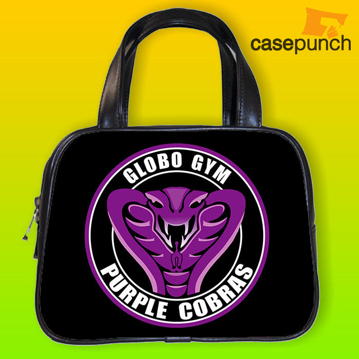An1-globo Gym Purple Cobras Funny Movie Logo Handbag Purse Woman Bag Classic