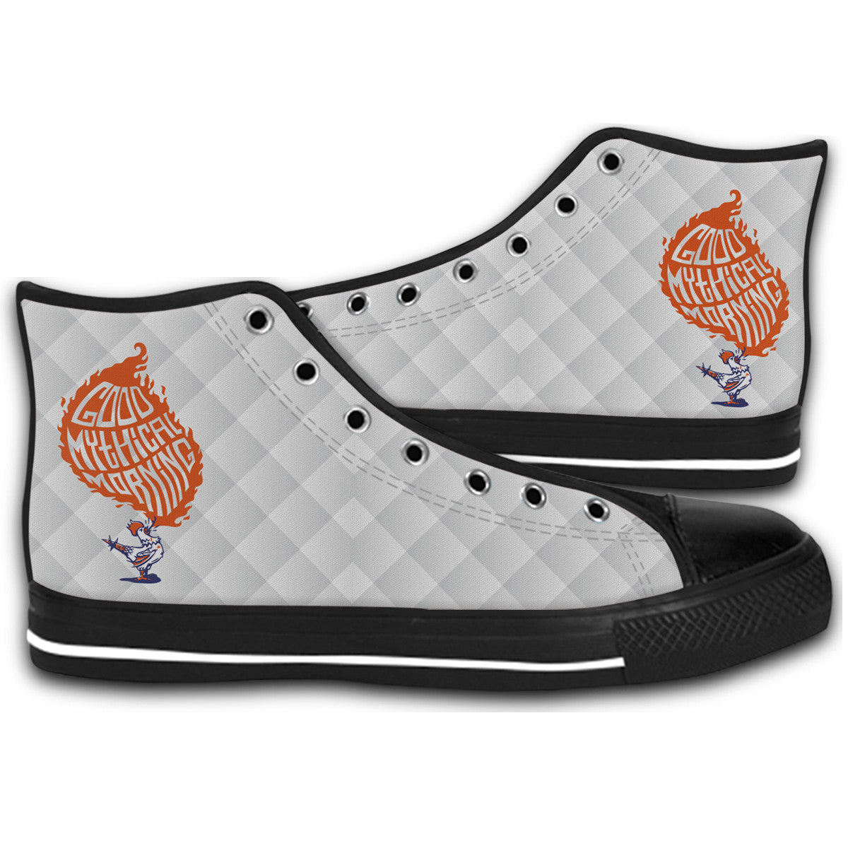 buy popular 46e71 745c1 Good Mythical Morning Funny Canvas 1 Style Shoes Fashion Sneakers