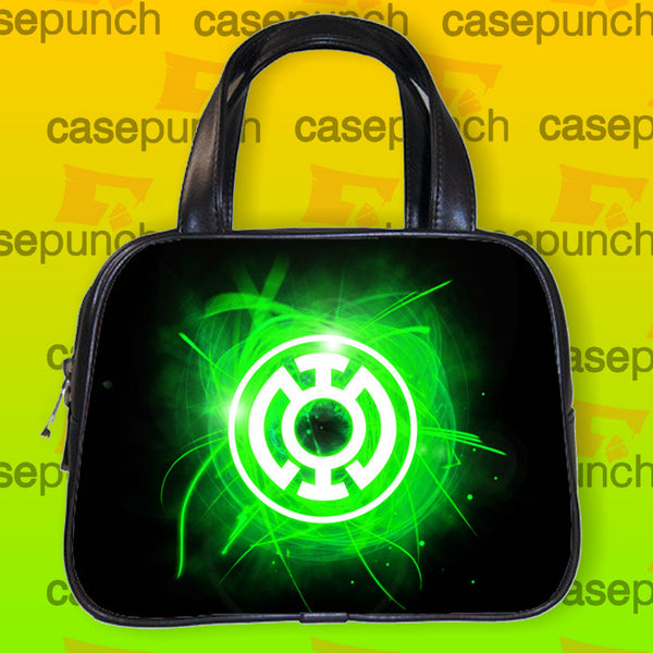 An1-green Lantern Corps Symbol Handbag Purse Woman Bag Classic