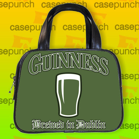 An1-guinness Beer Draft Glass Handbag Purse Woman Bag Classic