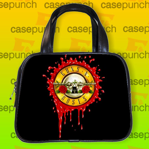 An1-guns N Roses Bloody Bullet Handbag Purse Woman Bag Classic